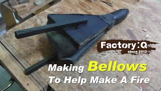 How to Make Bellows from scraps