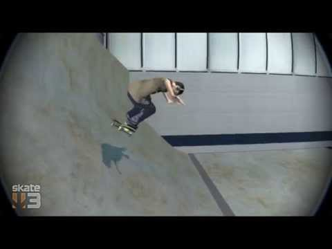 Skate 3 Realistic Line With A Not So Realistic End In Custom Park