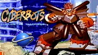 Cyberbots: Full Metal Madness playthrough (SEGA Saturn)