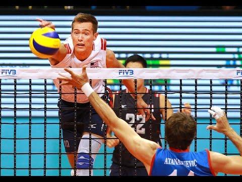 Thomas Jaeschke - USA Vs Serbia FIVB 2015 World League Volleyball Highlights