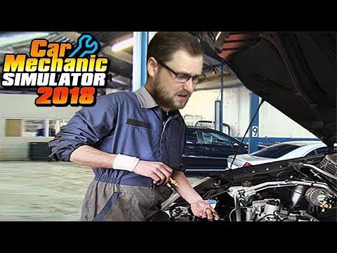 КУПЛИНОВ ОПЯТЬ РАБОТАЕТ В АВТОСЕРВИСЕ ► Car Mechanic Simulator 2018 #1