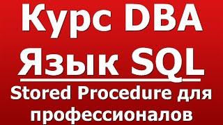 Stored Procedure для профессионалов