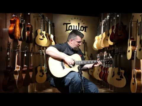 NEW Taylor Guitars Showroom at Reidys