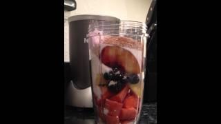 DELICIOUS! Nutribullet Smoothie Nutri Blast Breakfast Delicious and Healthy Recipe #1