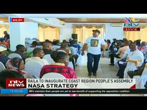Raila Odinga set to inaugurate coast region people's assembly