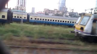 Cst Dead End Buffer Hitted Local Train At Matunga Workshop.