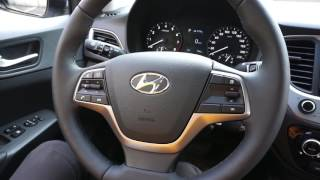 Новый Hyundai Solaris 2017 1 6 123 л с  AT Elegance + пакет Safety