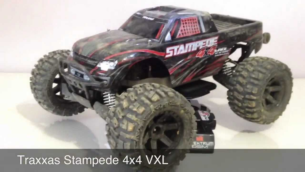traxxas stampede videos with Watch on REVO® Race Quad Project Turn Your Revo ATV Racing Machine together with Pro Line 1966 Ford F 100 Hay Hauler Clear Body moreover 58094 1fordraptor furthermore XRAY T4 2015 Specs 1 10 Luxury Electric TC 300021 moreover Traxxas Bigfoot Monster Truck.