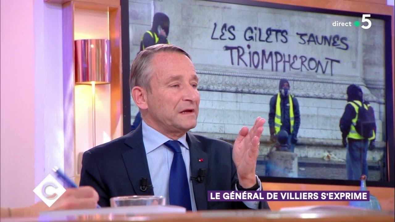 Le Général de Villiers s'exprime - C à Vous - 06/12/2018