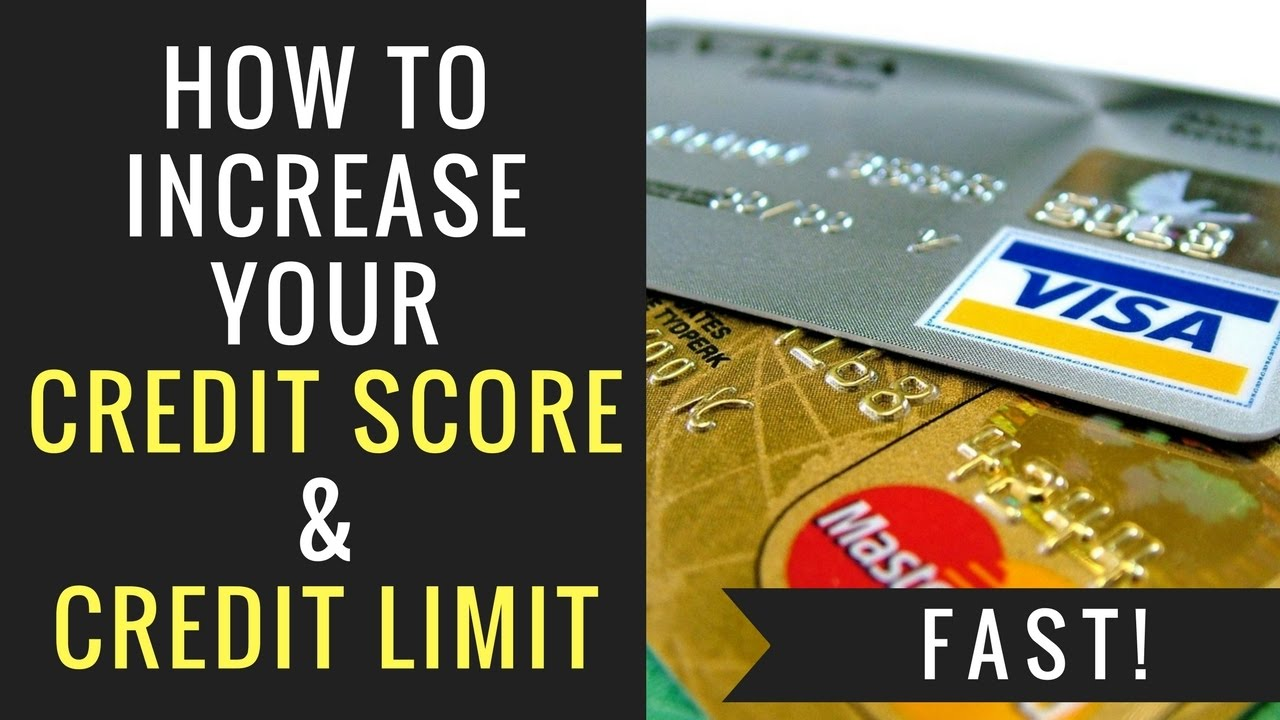 how to increase credit rating quickly