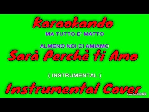 Karaoke Italiano - Sarà perchè ti amo - Ricchi e Poveri  Testo