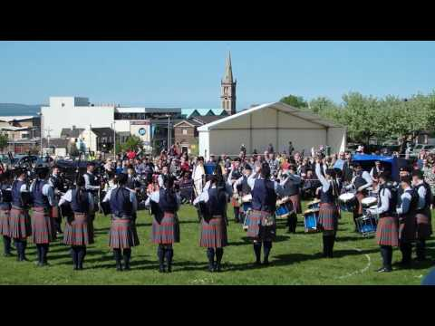 Bleary & District Pipe Band - Ards & North Down Championships 2016 - Medley
