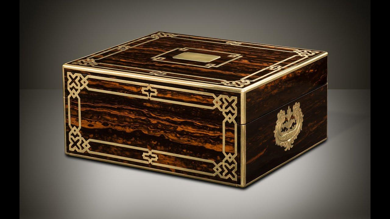 Danielluciancom Asprey Exhibition Piece Antique Jewellery Box