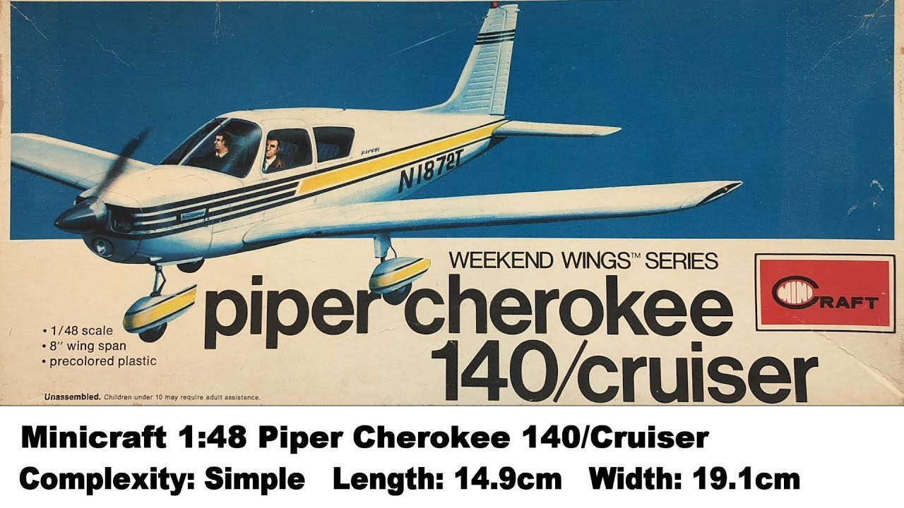 Minicraft 1:48 Piper Cherokee 140/Cruiser Kit Review