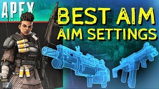 Best Console Aim Settings | Response Curves EXPLAINED! Apex Legends PS4/Xbox