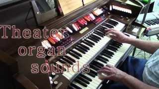 Baldwin PR200 Organ Bob Jennings plays Heart Aches