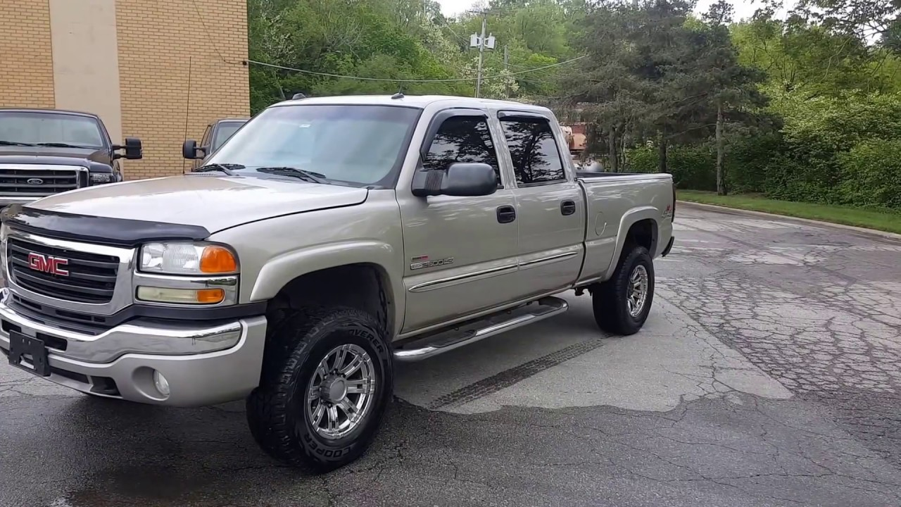 2004 GMC Sierra 2500 HD 4x4 Crew Cab LLY Duramax Diesel For Sale Kansas City