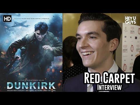 Fionn Whitehead - Dunkirk - Critics Circle Awards 2018 Red Carpet Interview