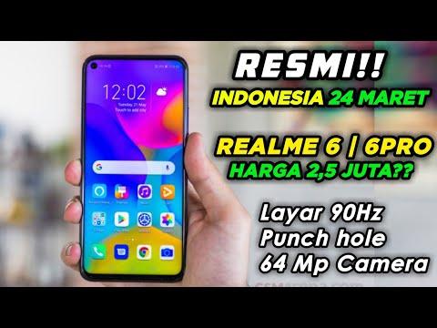 CUMAN Rp 2,5 JUTA!!! | Realme 6 & Realme 6 Pro Resmi Meluncur | Harga dan Spesifikasi Indonesia.