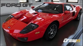 The Crew 2 - 2005 FORD GT - Customization, Top Speed Run, Review