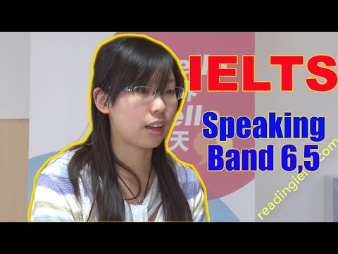 IELTS SPEAKING BAND 6.5