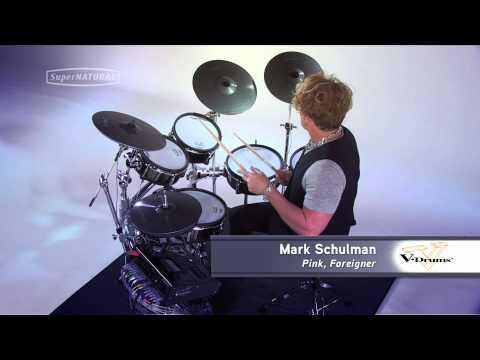 Roland V-Drums V-Pro Series - Artist Impressions