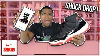 Air Jordan Bred 11 Shock Drop!!