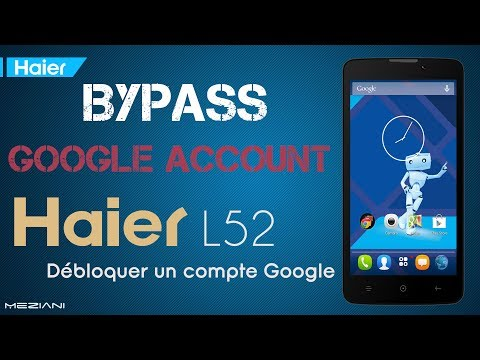 Bypass Google Account Haier L52 Remove FRP