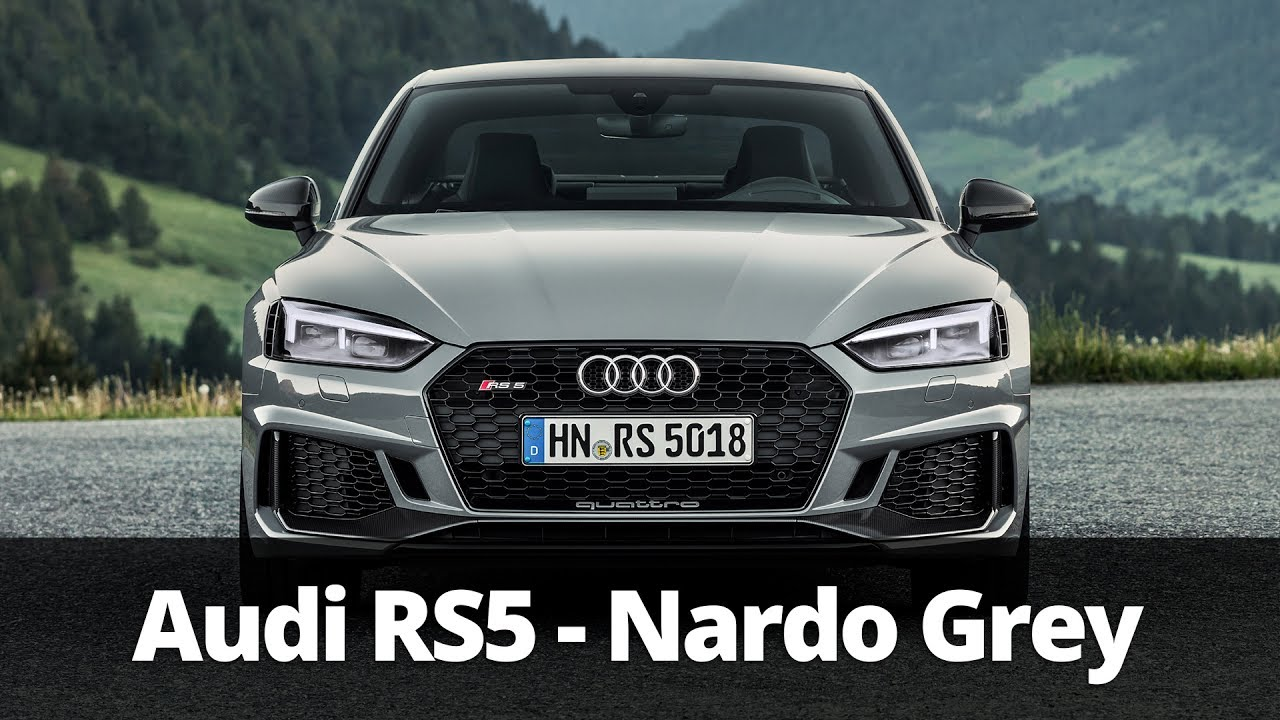 2018 audi nardo grey. simple nardo 2018 audi rs5 in nardo grey  driving  exterior interior on audi nardo grey a