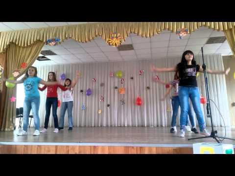 Танец 5 класса школа 50