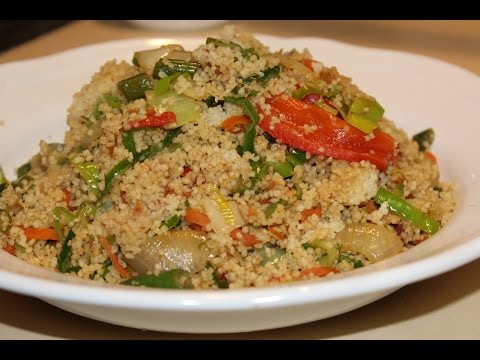 How to make couscous rice