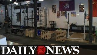 Gym owner displays vulgar sign to ban cops and military members