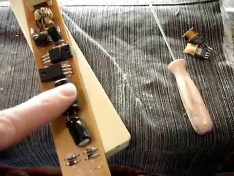 Ремонт электронного баласта на