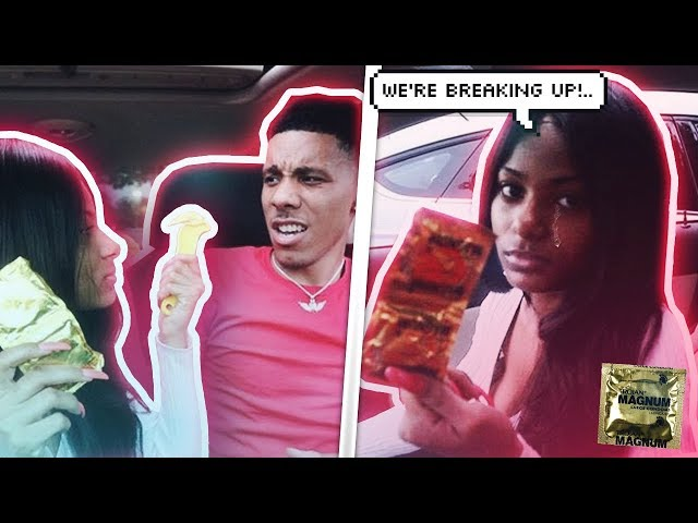 GIRLFRIEND FINDS PROTECTION IN BOYFRIENDS CAR *leads to breakup*