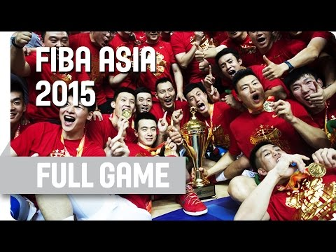 China v Philippines - Final - Full Game - 2015 FIBA Asia Cha