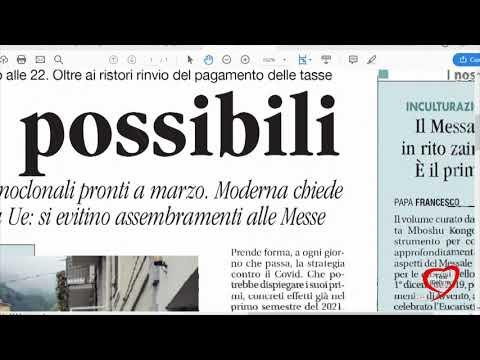 I giornali in edicola - la rassegna stampa 01/12/2020
