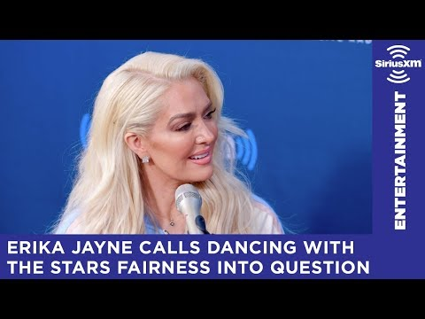 Erika Jayne calls Dancing with the Stars fairness into question