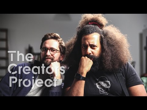 The Creators Project Meets Reggie Watts & Benjamin Dickinson