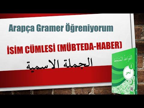 Arapca Dersleri Ders 1 (Avâmil) Lâlegül TV