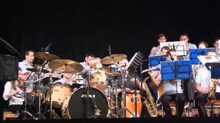 Frank Ádám (6 éves) és a Seventeen Big Band, Carlos Santana Smooth