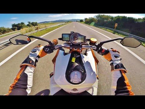 KTM Superduke R 1290 powerwheelie // Sumo fighter on dream bike // SMC R // Rideout // Schwarzwald