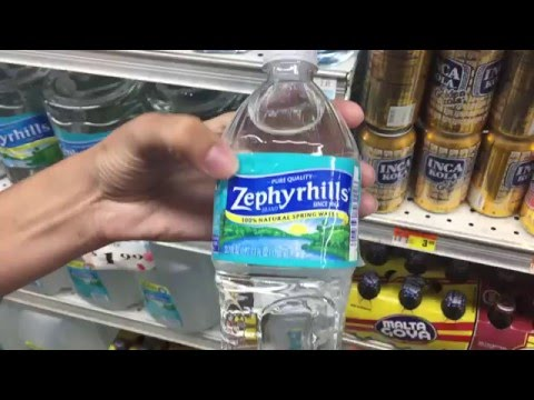 Zephyrhills 100% natural spring water