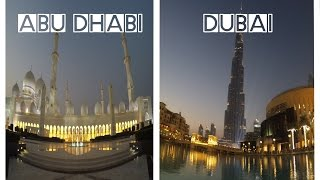 Trip to Abu Dhabi & Dubai - Burj Khalifa, Ferrari World - Travel Tour 2016 - HD 1080p