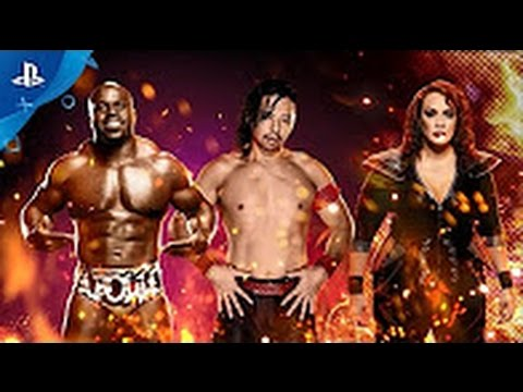 WWE 2K17     NXT Enhancement Pack Trailer Poster