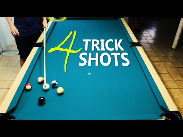 4 Pool Trick Shots: Volume 19