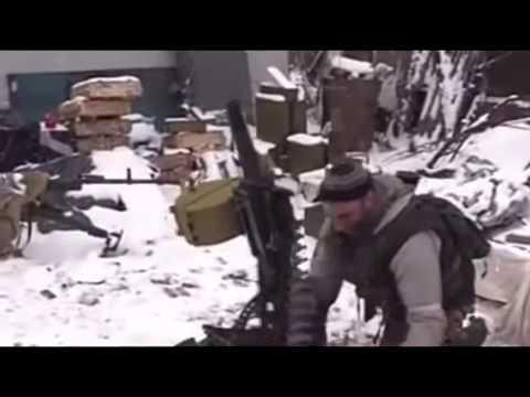 Exclusive footage of battle for boiler Debaltseve February 18 DNR War in Ukraine