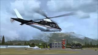 FSX - Milviz Agusta Westland AW 109 - Aviano - HD