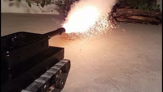 How to Make Remote Control Battle Tank -That Fires