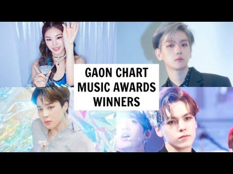 GAON CHART MUSIC AWARDS 2020 WINNERS - YouTube