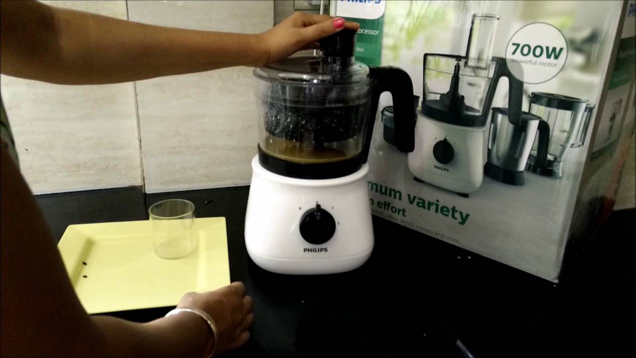 How To Make Juice In Food Processor Philips Food Processor Review